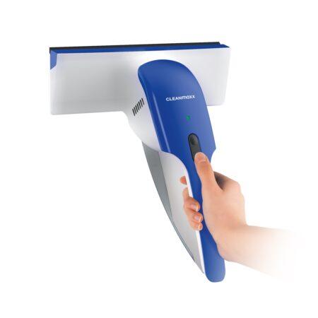 Koop nu Cleanmaxx Ramenreiniger. Incl. waterreservoir en vuilwatersensor. Snel en streeploze ramen. - Laagste prijs