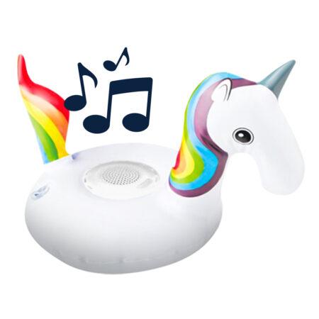 Koop nu BluMill Opblaasbare Speaker - Unicorn - Laagste prijs
